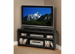Corner Flat Panel Plasma / LCD TV Console in Black - Vasari - Prepac Furniture - BCV-4722