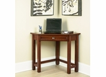 Corner Lap Top Desk in Cherry - Hanover - 5532-17