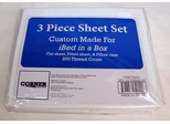 Corner Limited Custom Made 3PC Sheet Set