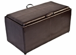 Corner Limited Paris Storage Ottoman Bench