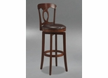 Corsica Swivel Counter Stool with Vinyl Seat - Hillsdale Furniture - 4166-828