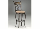 Counter Bar Stool - Pompei Swivel Counter Stool - Hillsdale Furniture - 4442-826