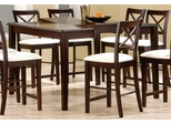 Counter Height Dining Table in Cappuccino - Coaster