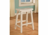 Counter Stool - Color Story Pure White - Powell Furniture - 270-430