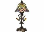 Crystal Peony Accent Lamp - Dale Tiffany