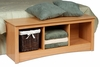 Cubbie Bench in Maple - Sonoma Collection - Prepac Furniture - MSC-4820
