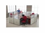 Cubicle Systems - Rize Panel System with Workstations - OFM