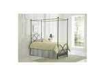 Cutlass Metal Canopy Bed - Largo - LARGO-ST-1047-CANOPY-BED