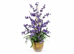 Dancing Lady Silk Orchid Arrangement in Purple - Nearly Natural - 1005-PP