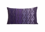 Danica Embroidered Fade Rectangle Pillow - IMAX - 42111