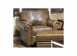 Danville Leather Club Chair - Largo - LARGO-ST-L3550-403