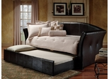 Daybed - Brookland Daybed in Dark Brown Leather