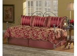 Daybed Size Bedding - 5-Piece Daybed Ensemble in Crawford Pattern - 80JQ400CRW