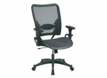 Deluxe Air Grid Back and Air Grid Seat Managers Chair