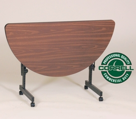 Deluxe Flip Top Table with High-Pressure Top - Correll Office Furniture - FT2448HR