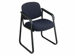 Deluxe Sled Base Arm Visitors Chair - Office Star - V4410