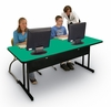 """Desk Height Computer Table 30"""" x 72"""" - Correll Office Furniture - WS3072"""