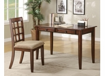 Desk with Two Drawers & Desk Chair - 800778