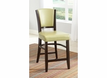 """Dining 1036 25"""" Counter Stool in Green - Set of 2 - 103689GRN"""