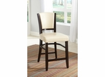 "Dining 1036 25"" Counter Stool in Ivory - Set of 2 - 103689IVY"