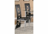 Dining Chair (Set of 2) in Black - Coaster - 101682-SET