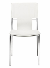 Dining Chair Trafico Side Chair Set Of 4 Zuo Modern 404132 Dining Room Chairs