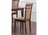 Dining Chair with Upholstered Back (Set of 2) in Walnut - Coaster