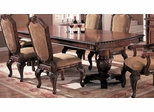 Dining Table in Antique Brown - Coaster