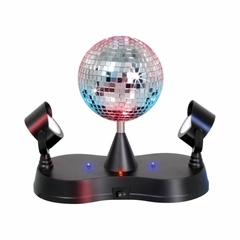 Disco Ball with 2 Mirrors - Lumisource