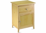Discount Night Stand with Drawer - Winsome Trading - 81115