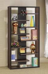 Display Cabinet in Cappuccino - Coaster