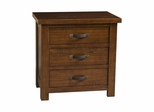 Distressed Chestnut Outback Nightstand - Hillsdale