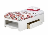 Dixie Twin Size Bed with Storage - Nexera Furniture - 313903