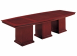 DMI Office 144 Inch Boat Top Conference Table - Executive Office Furniture / Home Office Furniture - 7302-144
