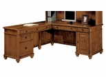 DMI Office 66 Inch L-Shaped Computer Desk with Left Return - 7480-49A
