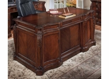 DMI Office 66 Inch Shaped Executive Desk - 7688-34