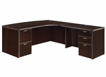 """DMI Office Executive CompuBow L Shape with 42"""" Right Return - 7004-47CB"""