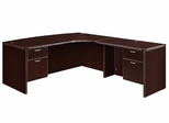 """DMI Office Executive CompuBow L Shape with 42"""" Right Return - 7004-47CBQ"""