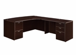 """DMI Office Executive CompuBow L Shape with 48"""" Right Return - 7004-47ECB"""