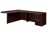 """DMI Office Executive CompuBullet L Shape with 48"""" Right Return - 7004-45ECP"""