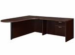 """DMI Office Executive CompuBullet L Shape with 48"""" Right Return - 7004-45ECPQ"""
