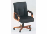 DMI Office Executive Leather Mid Back Chair - Transitional Office Furniture - 7130-81
