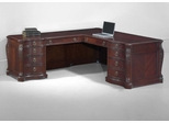 DMI Office Executive Left L-Shaped Desk - 7688-56