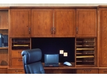DMI Office Hutch with Organizers - Transitional Office Furniture - 7130-625