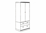 DMI Office Lateral File Storage Cabinet - Executive Office Furniture / Home Office Furniture - 7302-07