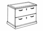 DMI Office Lateral File - Transitional Office Furniture - 7130-16