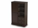 Door Chest in Espresso - Savannah - South Shore Furniture - 3519038