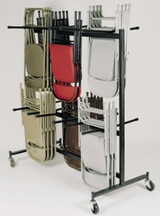Double-Tier Hanging Chair Truck - National Public Seating - 84