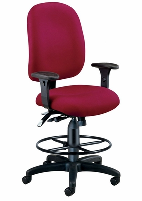 Drafting Chair - Ergonomic Executive/Computer Task Chair with Drafting Kit - OFM - 125-DK