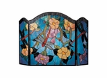 Dragonfly Fireplace Screen - Dale Tiffany